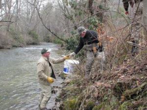 Green River Trout Stocking