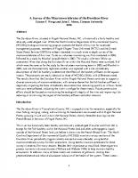 2018 Macroinvertebrate Study